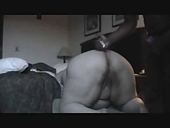 White BBW gets an anal pounding from a BBC