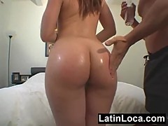 Naughty Puerto Rican chick banged hard in a hotel room