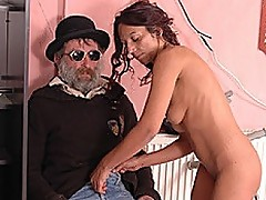 Bizarre Handicap Sex Scene Gets Hot