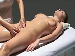 Highly Flavored	Bitch With A Bizarre Seafood Taco Gets A Yummy Massage From Her Lesbian Lover