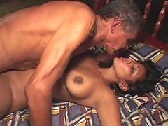 Gorgeous Latina Banged By Older Fucker