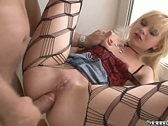 Alexis Silver like the cock to send inside her cunt