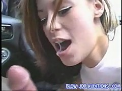 Amy lee sucking for a ride at blowjob auditions
