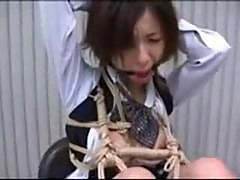 Office Bukkake In Bondage
