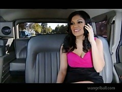 Sexy Adriana Kellye banged in a car