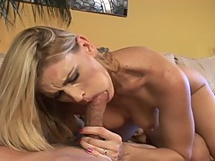 Horny milf takes two hot jocks