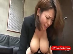 Busty Office Lady Getting Her Pussy Fucked Hard Creampie On The Floor In The Office