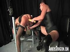 Mistress Lux Anal Dilling, Strap