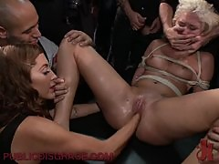 Fisting And BDSM Session With A Sexy Petite Blonde