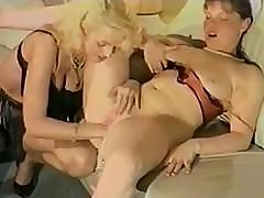 Strong Pussy-licking Passion Is Awakened In This Lesbian Slut's Body