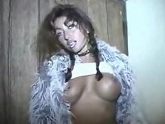 Euro Slut Prostitute Teases Outside