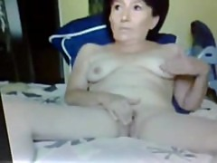Reina 61 years in rapute with my Dildo