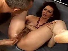hary granny anal squirter