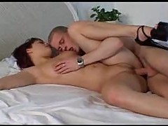 Hot firewoman fucked in the bedroom