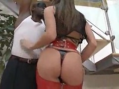 Tori Black accepts huge black dick in her ass