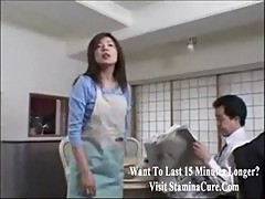 Fucking a horny Japanese housewife2