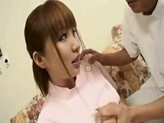 Busty Asian Service Maid Fingered And Creampie..