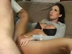 Busty Brunette Kimberly Kole Eats His Cock And Gets Plowed
