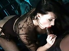 Sizzling whore Aletta Ocean is feeling the huge cock boning ...