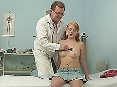 Kinky Doctor Jerks Off To Her Hottest Patient Before Fucking Her Pussy