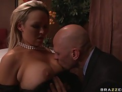 Hot Abbey Brooks like a dick sausage direct in her mouth