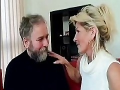 Busty old mommy prepare for crazy sex with old man