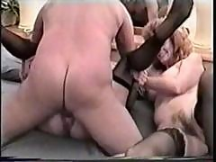 Nasty Old Man Gets To Fuck Two Horny Mature Bitch's Hairy Pussies In A Threesome