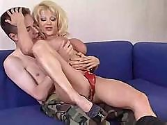 Hot Mature Blonde Cougar Donna D'enrico