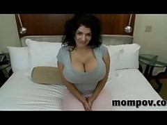 Mammoth tits milf fucking and sucking