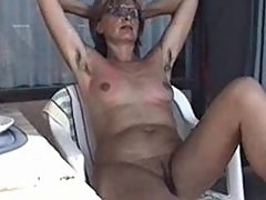 MARION from hairy Germany with unshaven Armpits 01 - Nackt-Schlampe