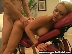 Hot blonde fucked
