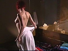 Fervent desires in hot shower with gorgeous lesbian divas