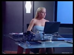 Horny Blonde Silvia Saint Playing With Her Pussy
