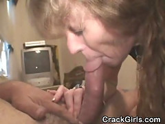 Dirty And Weathered Crack Whore Sucking Dick POV