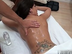 Capri Cavali is back for another massage part 1