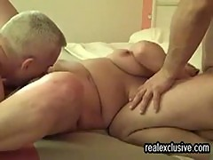 my wife Lotte anal fucked by monster cock