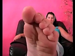 Foot Fetish Soleful Toes