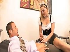 Hot Ass French Maid Fucks Her Boss