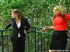 Monica And Brandi Belle Fuck The Nasty Coworkers