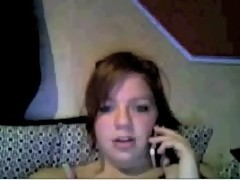 19 year old girl plays on MSN webcam 2